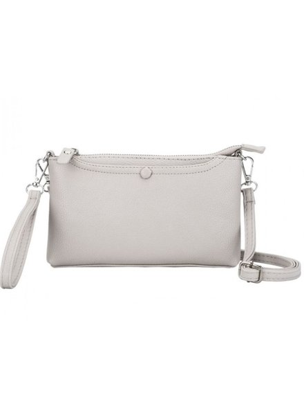 CARACOL CARACOL HAND BAG MULTI FONCTIONS IVORY