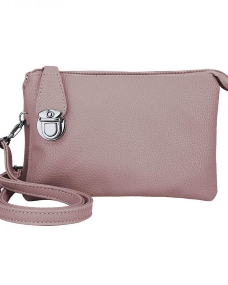 CARACOL CARACOL HAND BAG WITH MANY POCKETS PINK