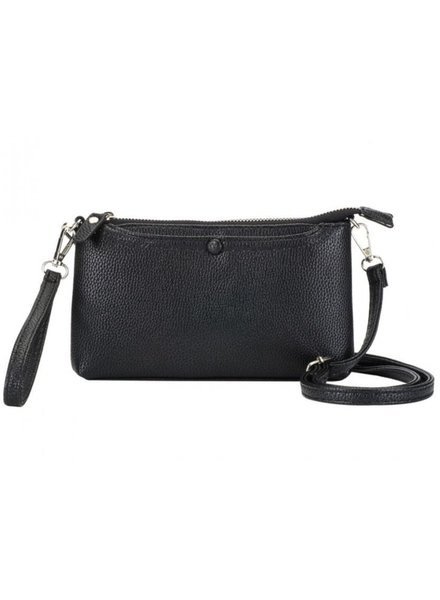 CARACOL CARACOL HAND BAG MULTI FONCTIONS BLACK