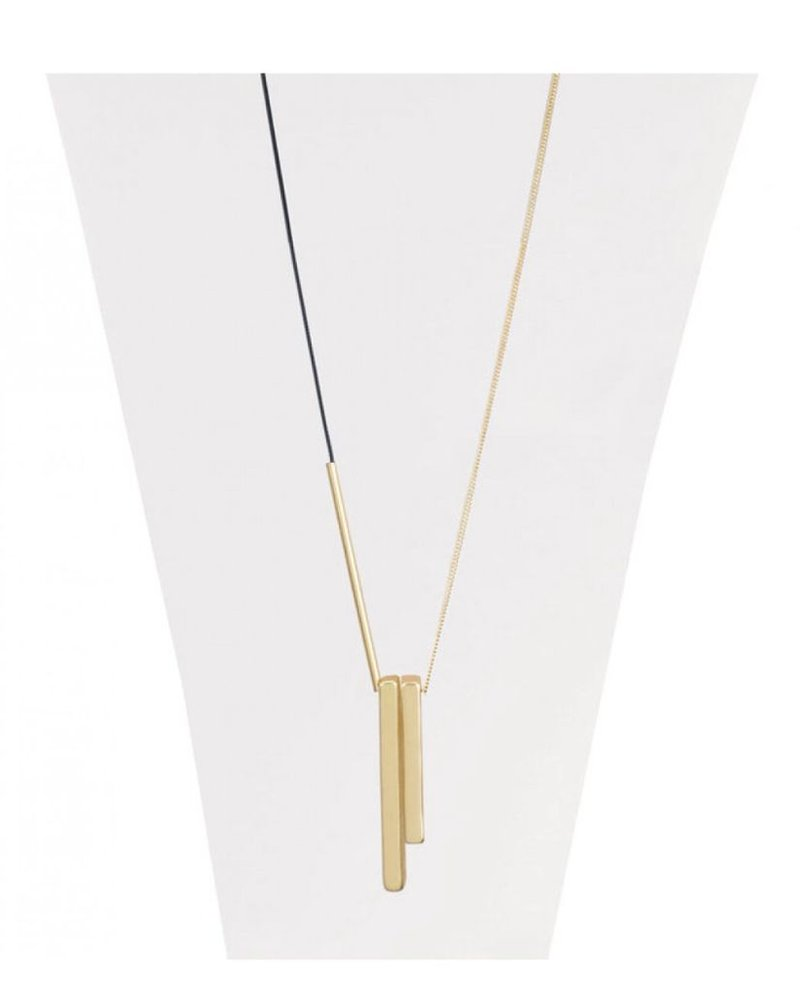 CARACOL CARACOL LONG NECKLACE GOLD