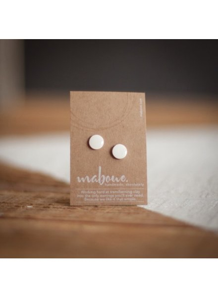 MABOUE MABOUE STUDS BLANC