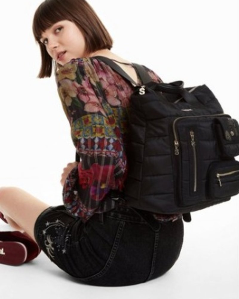 DESIGUAL DESIGUAL SAC MAGIC MALDIVAS NOIR