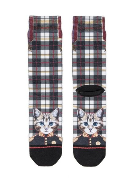 XPOOOS XPOOOS CHAUSSETTE CHAT NOIR