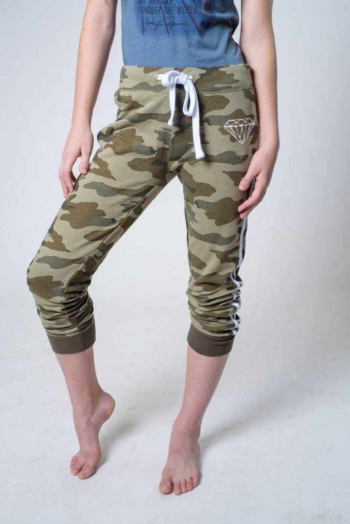 BOTTOMS CAMO JOGGER