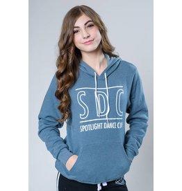 SDC HOODIE SLATE BLUE