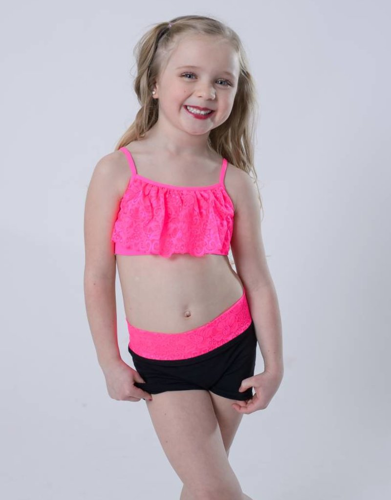OSFA BRA TOP LACE YOUTH