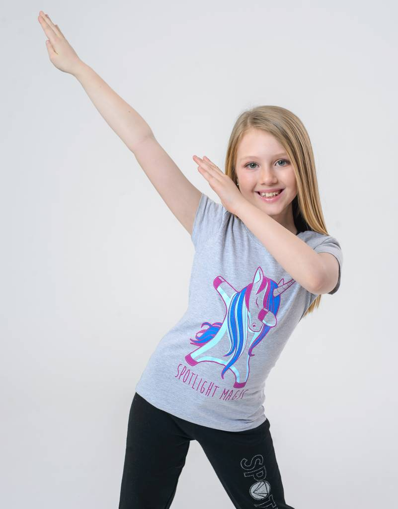 TSHIRT UNICORN SPOTLIGHT MAGIC YOUTH