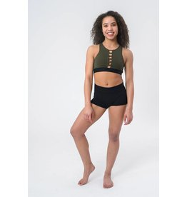 OSFA BRA TOP FRONT LACE UP