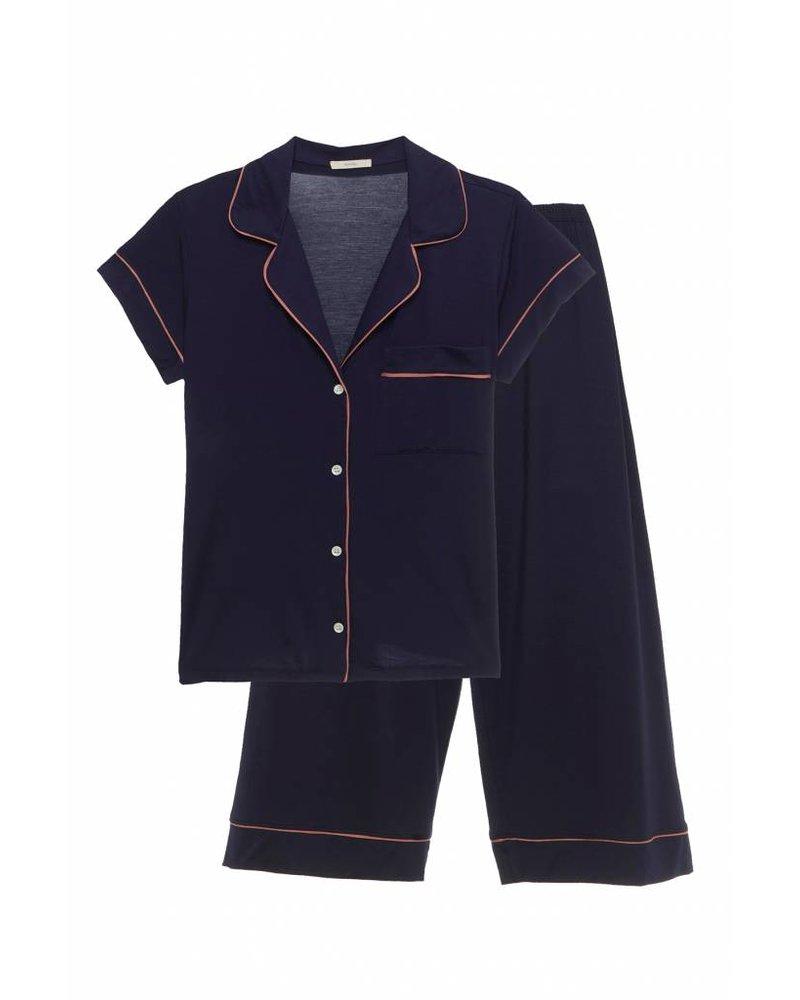 f79662ab232 Gisele Short Sleeve Cropped Pant Set - Lille Boutique