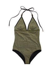 Stella McCartney Stella Gold One Piece Swimsuit