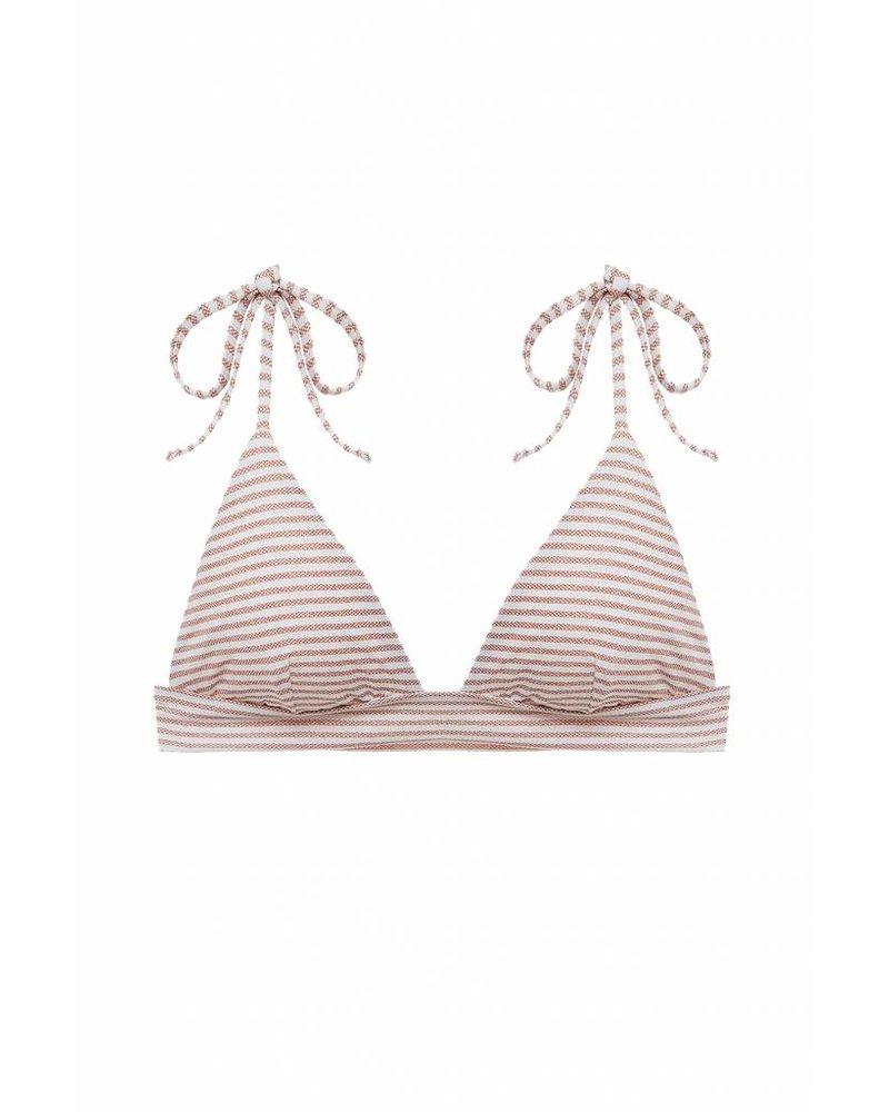 Eberjey Sea Stripe Remi Bikini Top