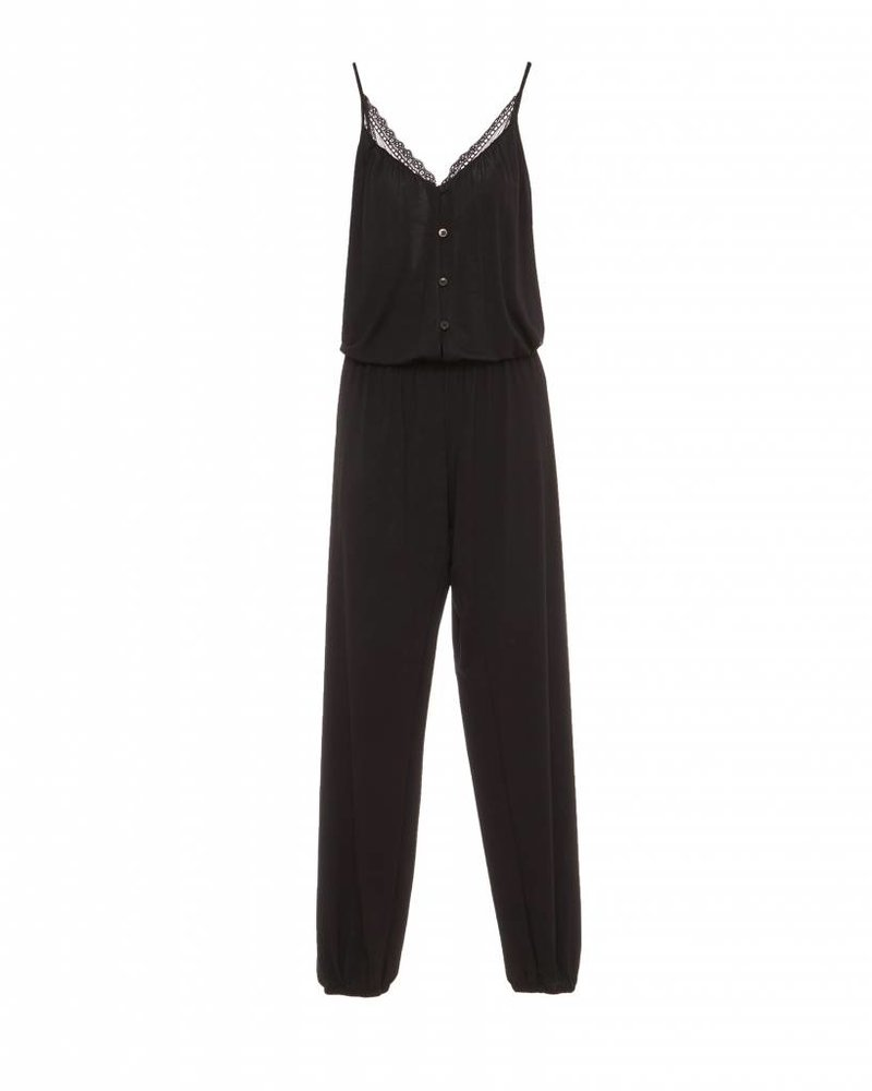 Eberjey Lucie Button Down Jumpsuit