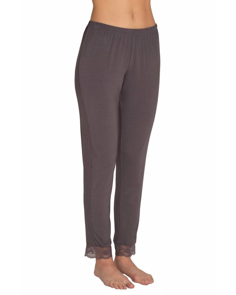 Eberjey Grace Classic Lace Slim Pant