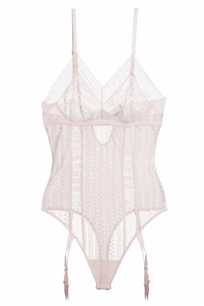 8a7f441aa Lolita Bodysuit w Removable Suspenders - Lille Boutique
