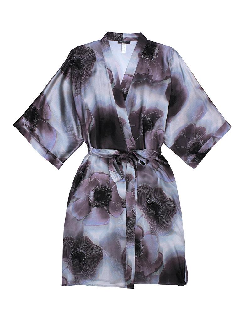 Samantha Chang Classic Silk Long Kimono