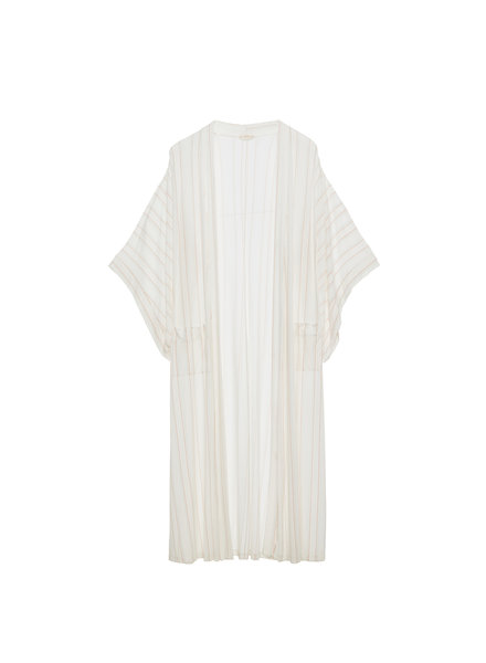 Eberjey Summer Stripes Parlor Robe