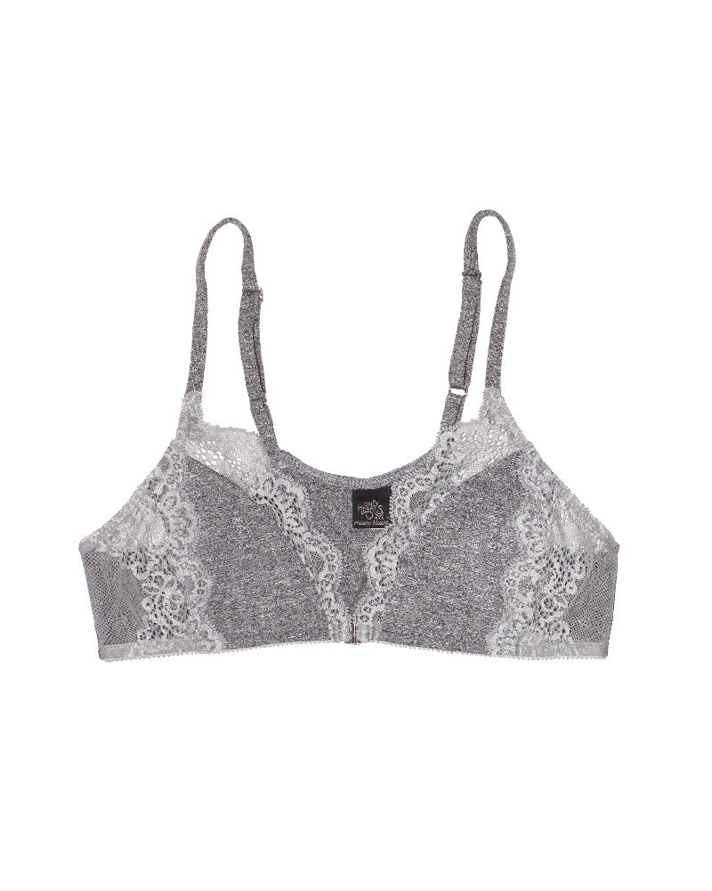 Only Hearts So Fine w/Lace Front Clasp Racerback Bra