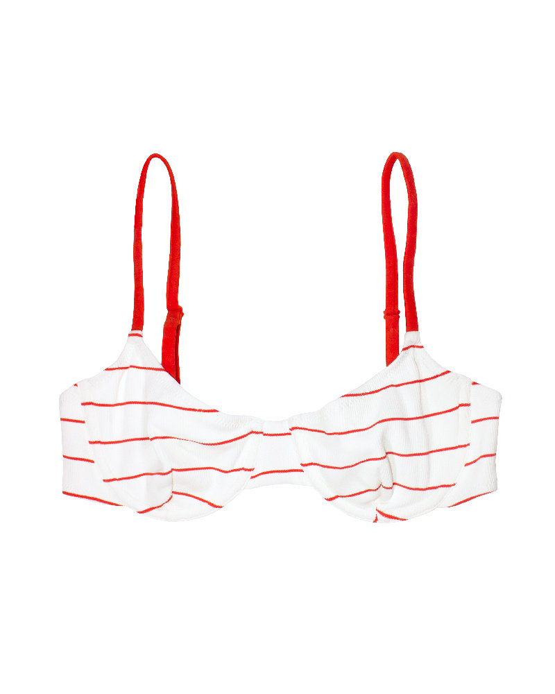 Solid & Striped Eva Underwire Bikini Top