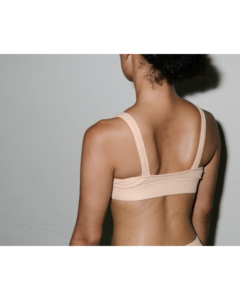 Base Range Cotton Rib Speed Bra