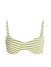 Solid & Striped Ginger Rib Bikini Top