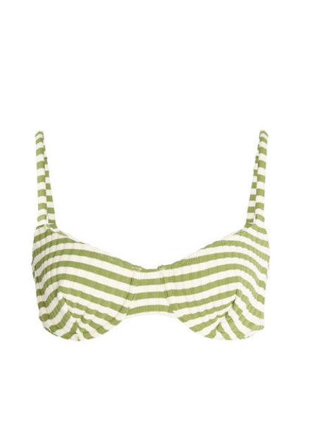 Solid & Striped Ginger Rib Bikini Top