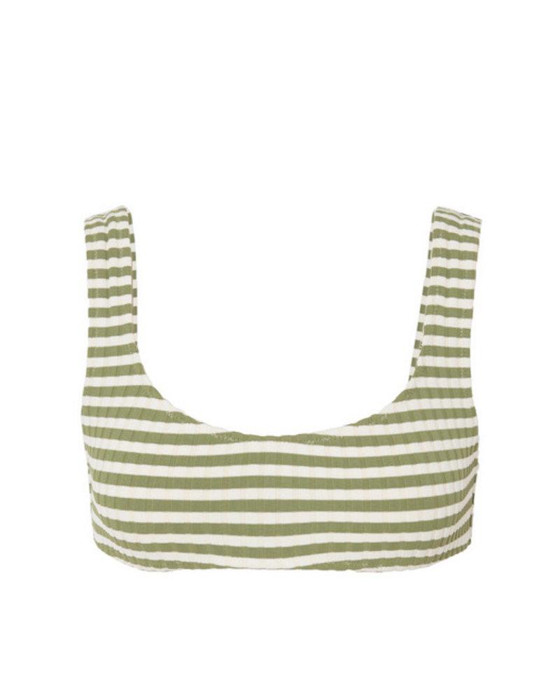 Solid & Striped Elle Rib Bikini Top