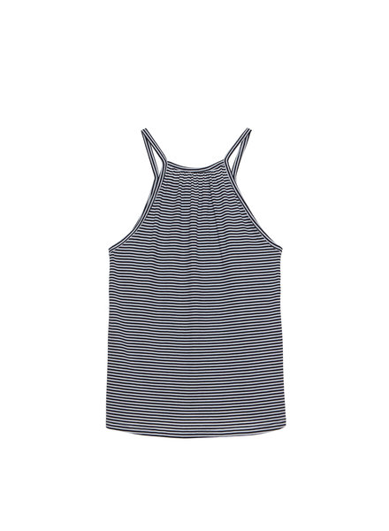 Eberjey Cotton Stripes Halter Tank