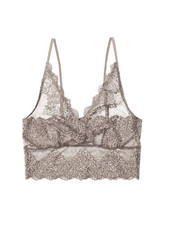 Only Hearts So Fine Lace Longline Bralette