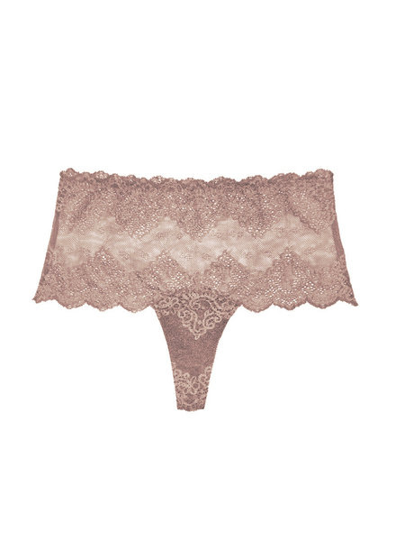 Only Hearts So Fine Lace High Waist Thong