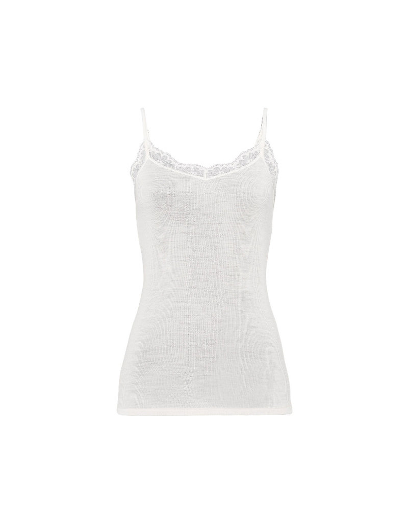 Hanro Woolen Lace Camisole