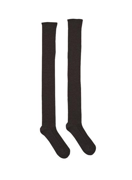 Baserange Silk Rib Overknee Sock