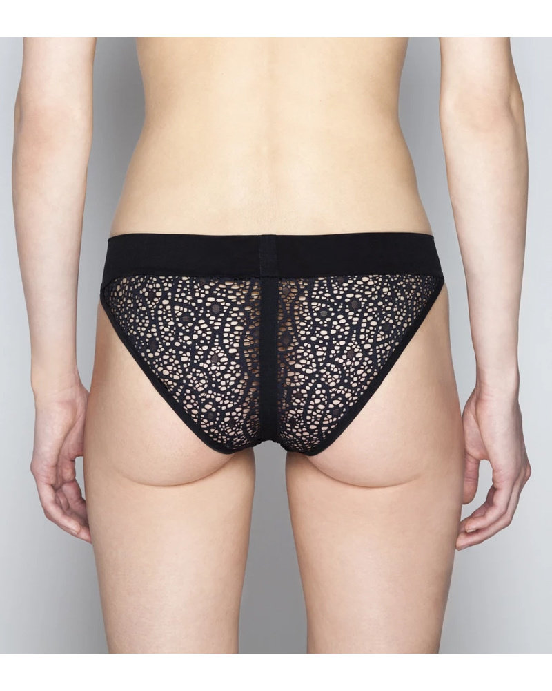 Opaak Graphic Lace Sagan Bikini Brief