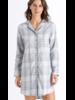 Hanro Edda Long Sleeve Sleep Shirt