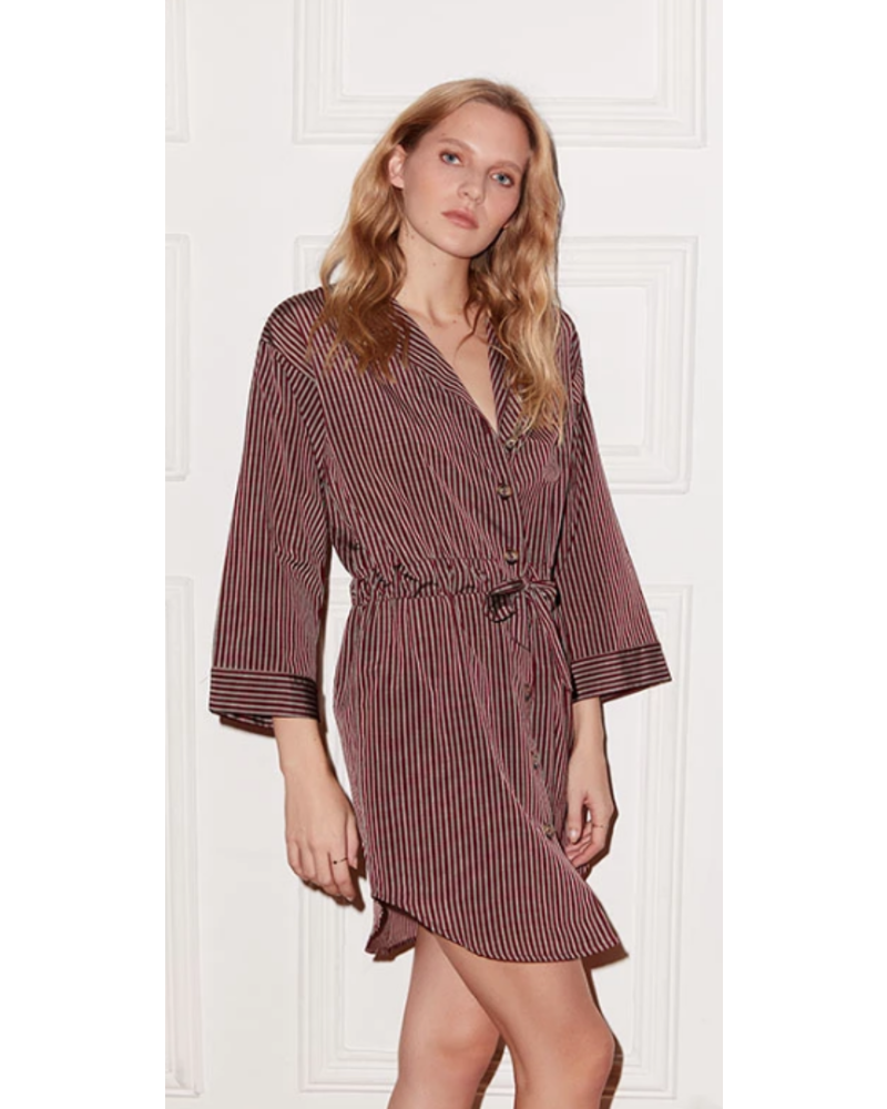 Else Dixie Shirt Dress with Tie Waist