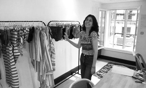 Studio Visit with Yasmine Eslami in Paris