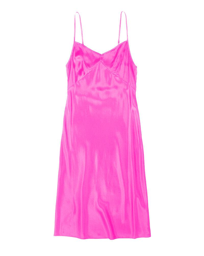 Only Hearts Tie Dye Silk Slip Dress