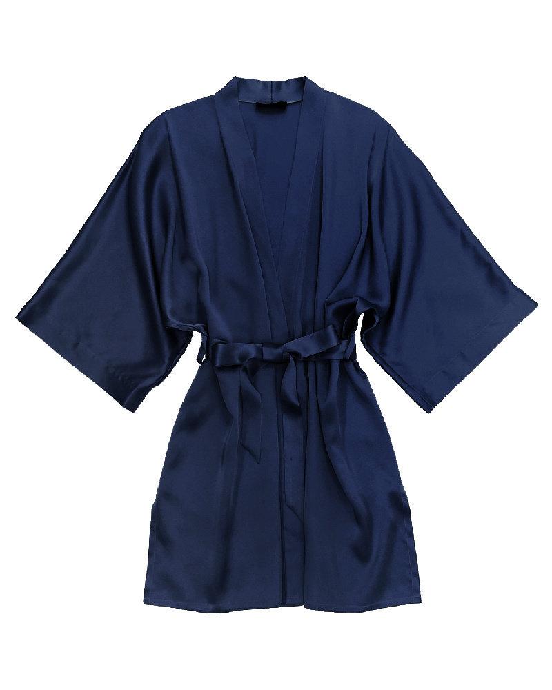 Samantha Chang Pure Silk Classic Short Kimono