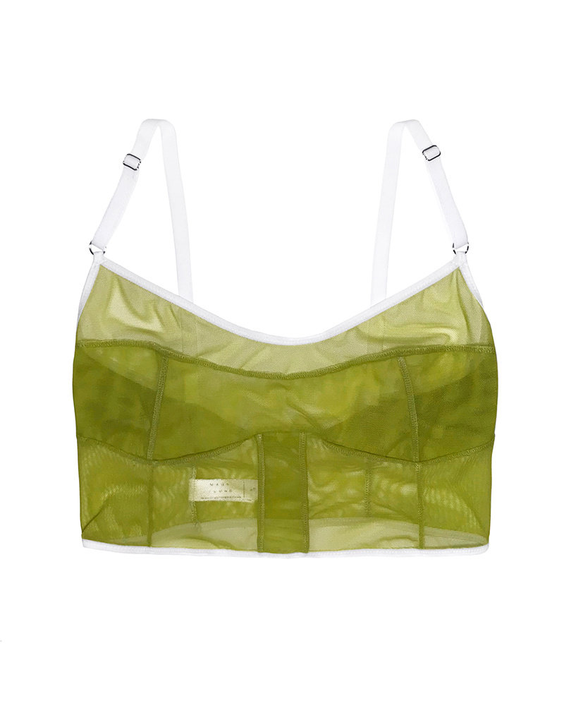 Mary Young Dia Crop Bra