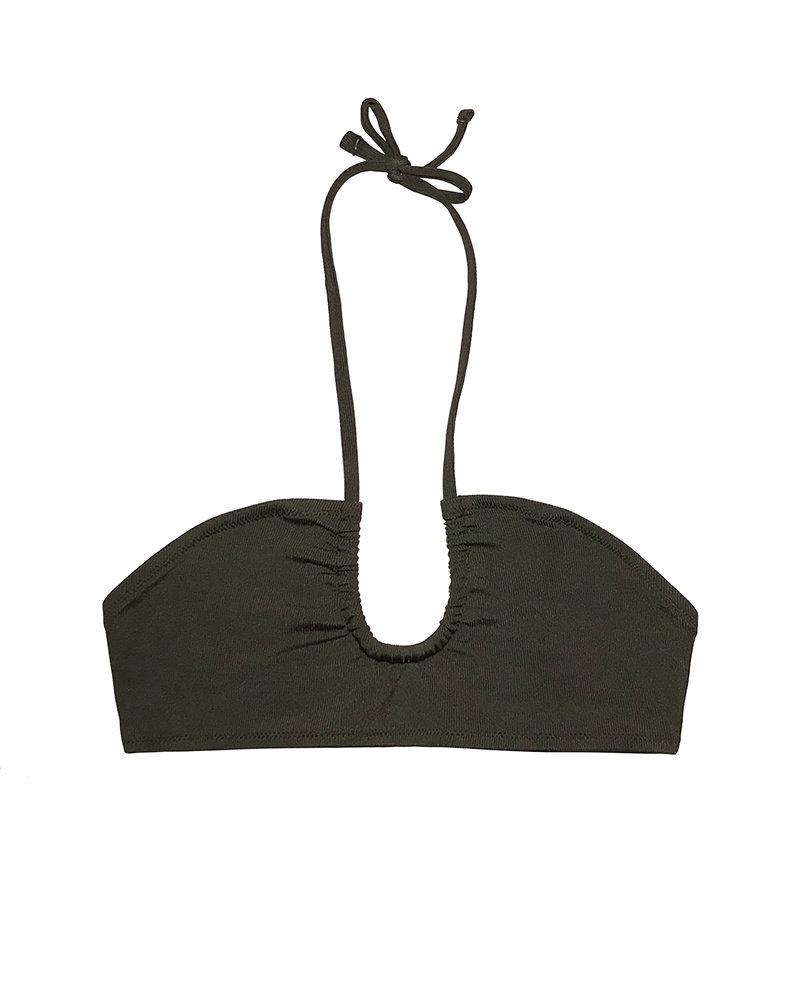 Yasmine Eslami Cora Bandeau Bikini Top