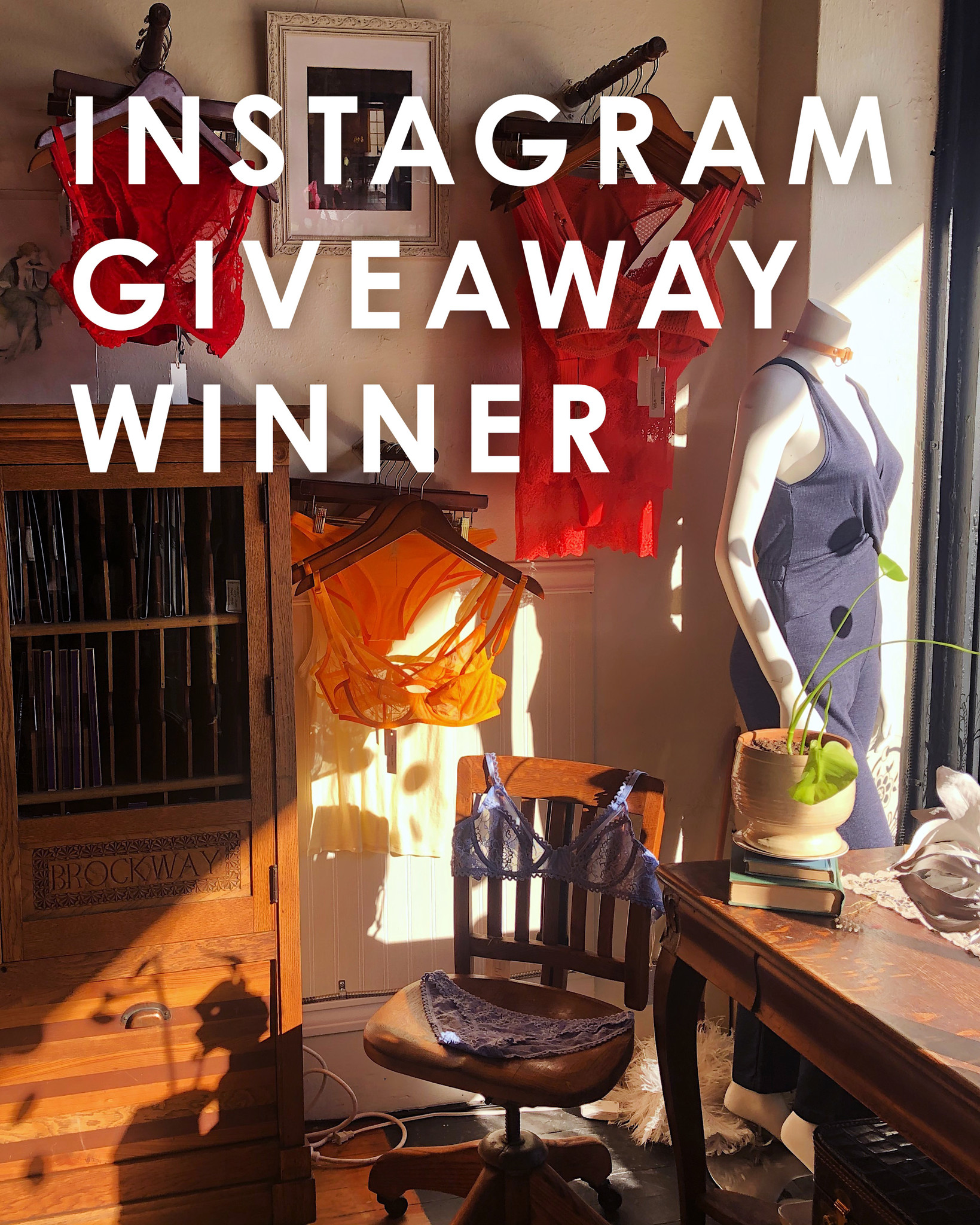 Instagram Giveaway Winner