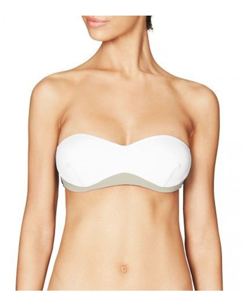 Stella McCartney Stella Iconic Colour Block Swim Top