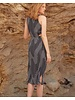Else Roxy Cut Out Halter Midi Dress