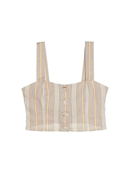 Else Sorrento Bustier Cropped Top