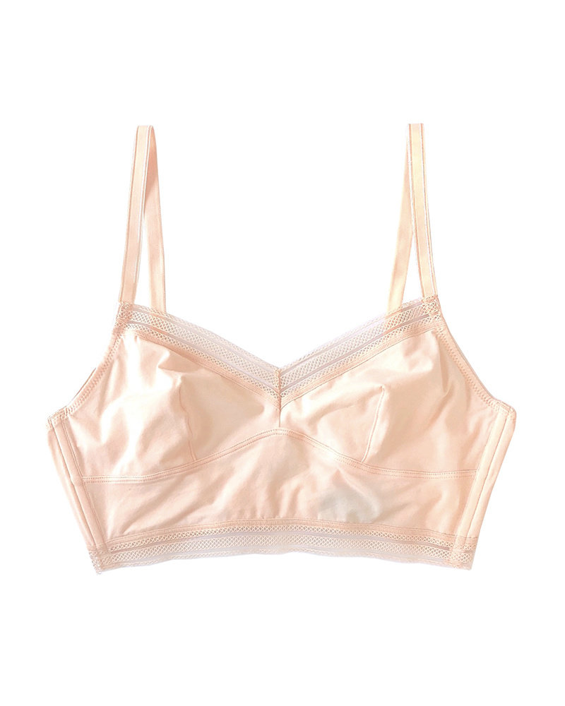 Samantha Chang Jet Set Cotton Longline Bra