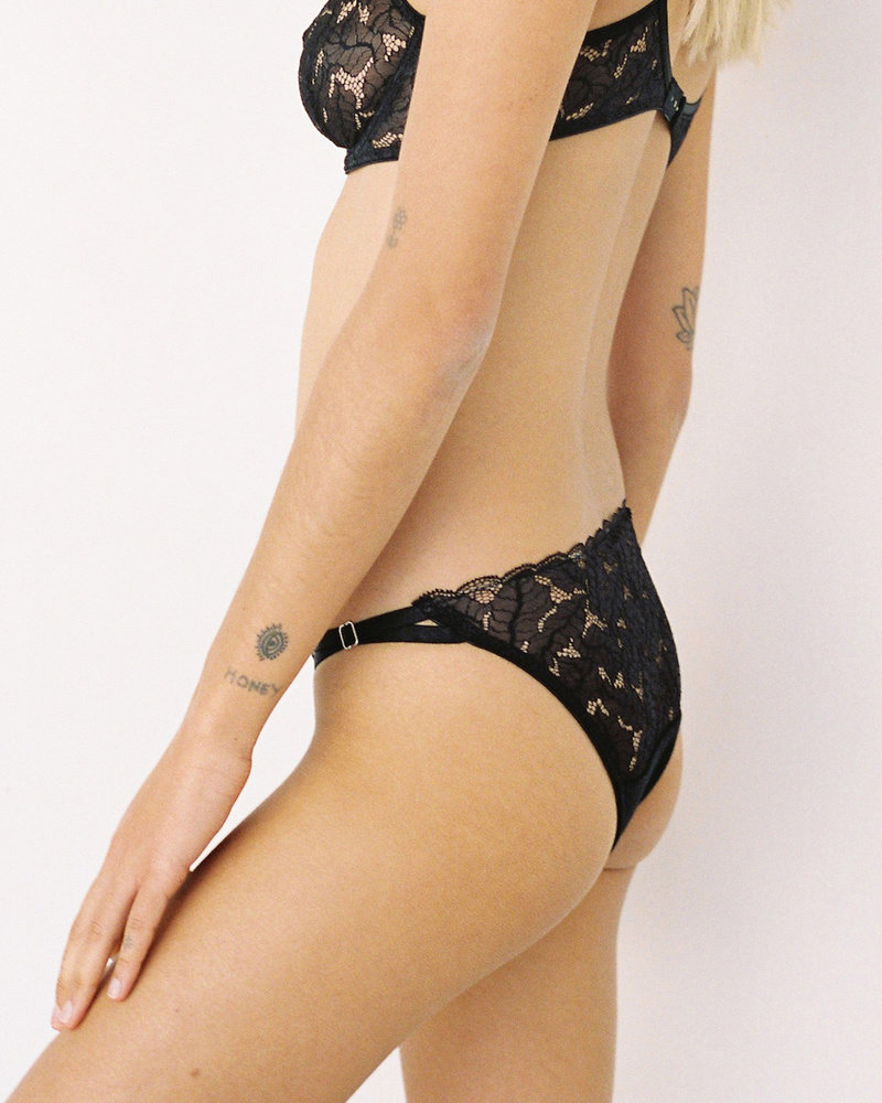 Lonely Ziggy Lace Tri Brief
