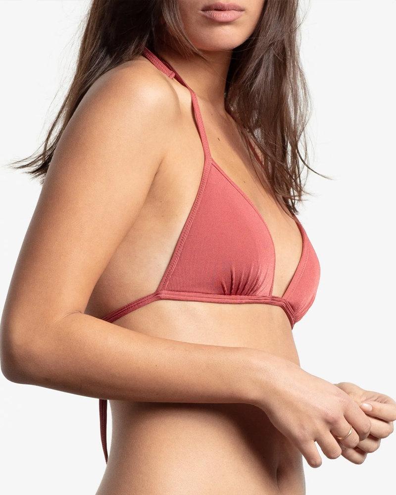 Yasmine Eslami Rinka Triangle Bikini Top