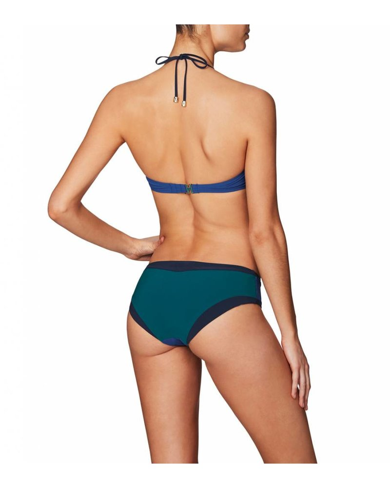 Heidi Klum Intimates Savannah Sunset Midrise Bikini Bottoms