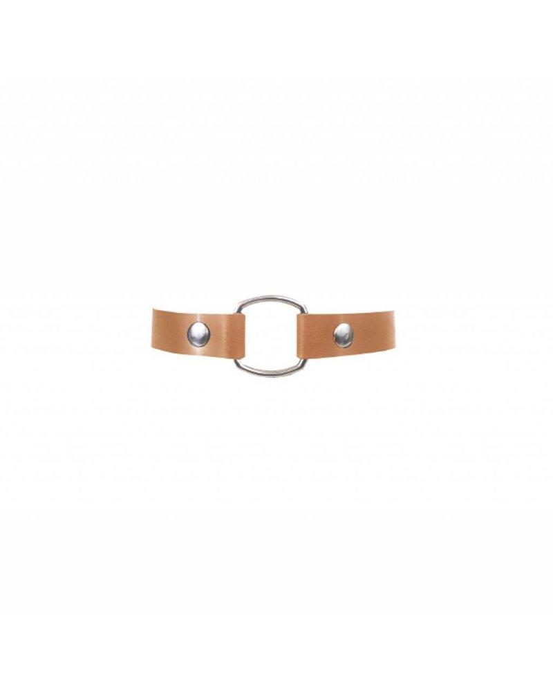 NDA Leather No. 11 Simple Choker
