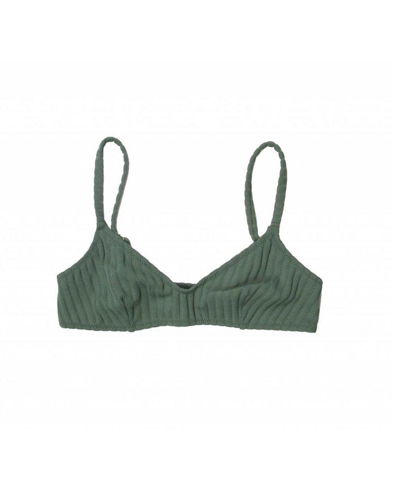 Solid & Striped Rachel Rib Bikini Top