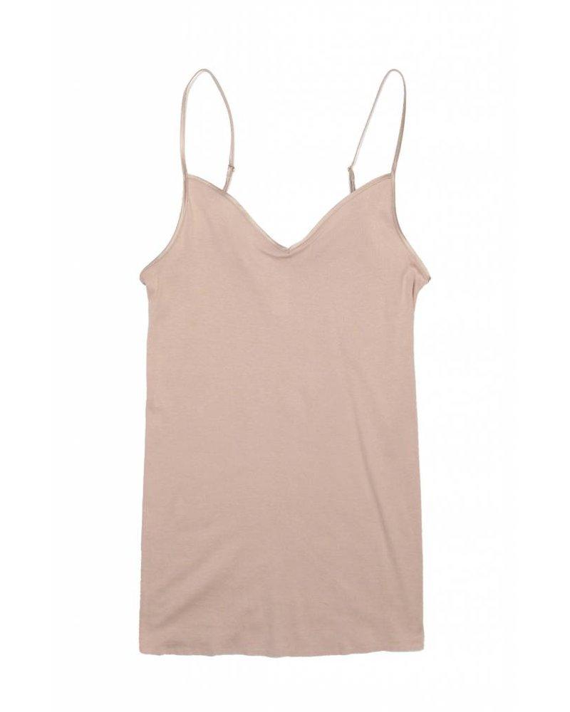 Hanro Cotton Seamless V-Neck Camisole